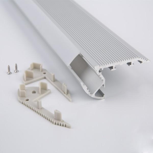 Zubehör Endkappe für LED Stufenprofil