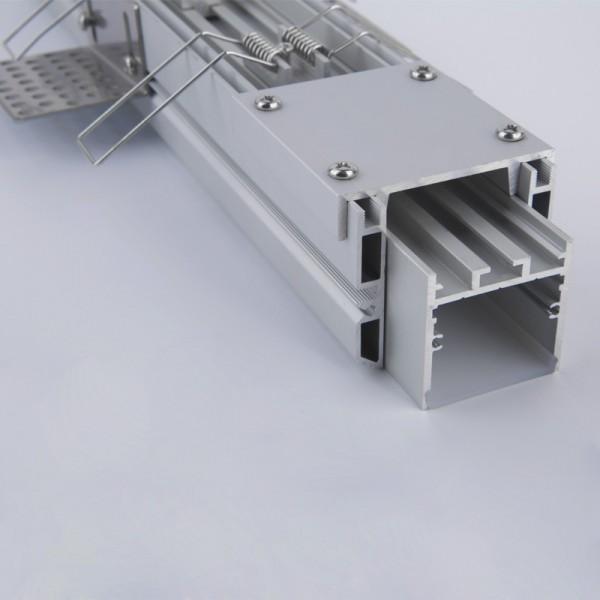 LED Deckeneinbauprofil Rahmenlos