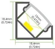 LED Eckprofil LE-AC3