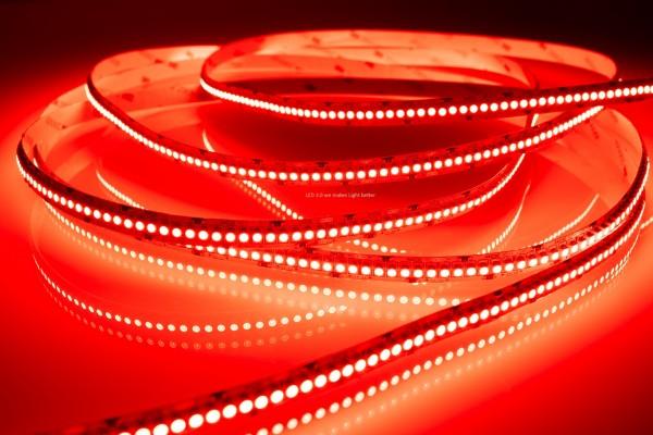 LED Streifen selbstklebend in Rot