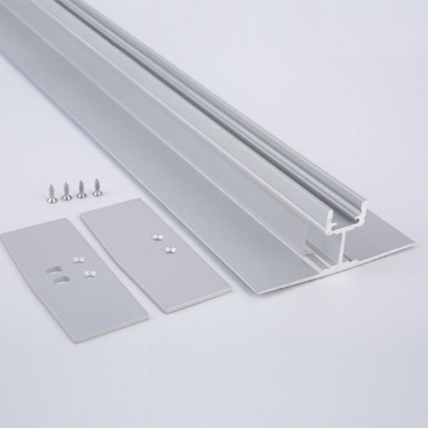 Zubehör Abdekcung für LED Wandprofil